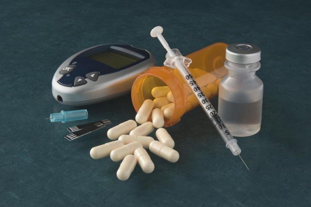 diabetes, insulina, vinagre de maçã, medicamentos, risco